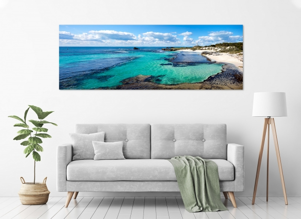 Jason Mazur - 'The Basin at Low Tide, Rottnest Island 027' in a room