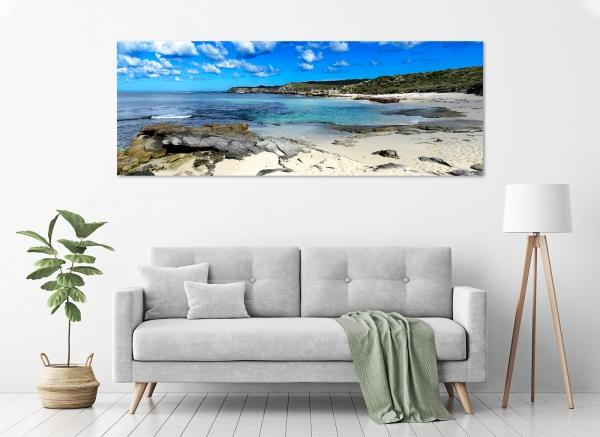 Jason Mazur - 'Strickland Bay, Rottnest Island 016' in a room