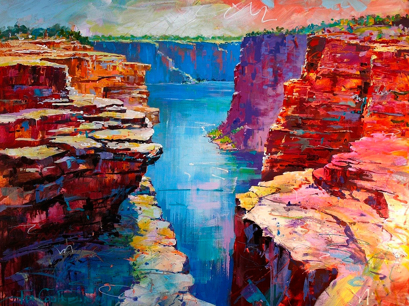 Jos Coufreur - 'King George River'