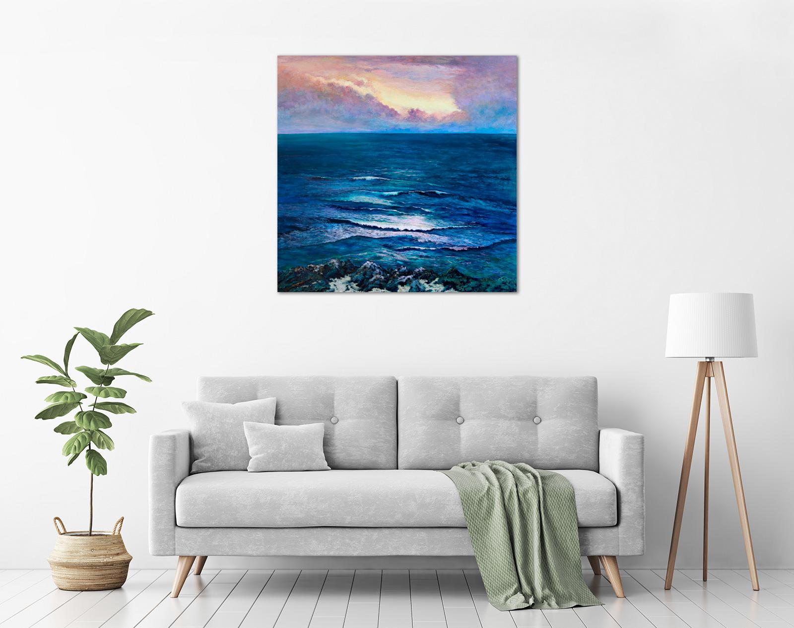 Lindy Midalia - 'Across The Ocean Light' in a room