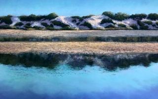 Lindy Midalia - 'Afternoon Salt Lake Reflections'