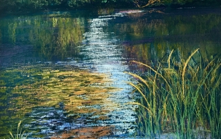 Lindy Midalia - 'Sunlit Reflections'