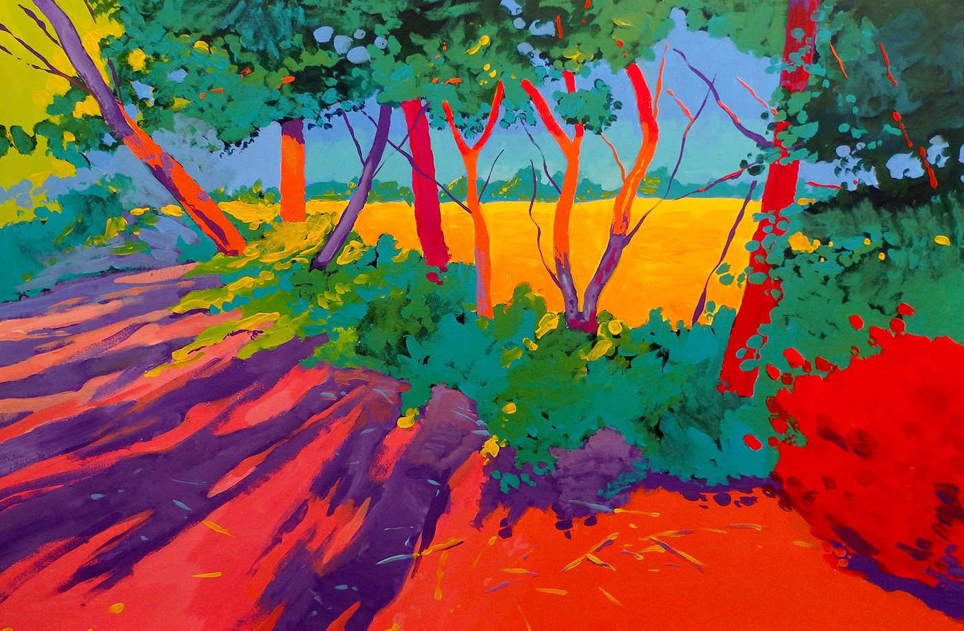 Marek Herburt - 'Trees at Heysen Road'