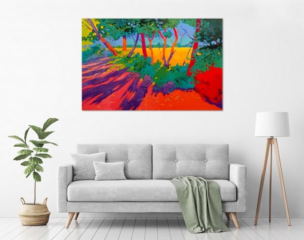 Marek Herburt - 'Trees at Heysen Road' in a room