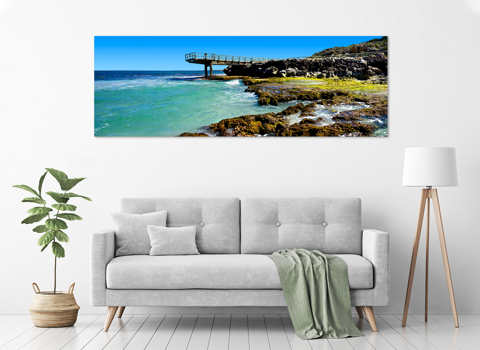 Jason Mazur - 'North Beach Groyne 001' in a room