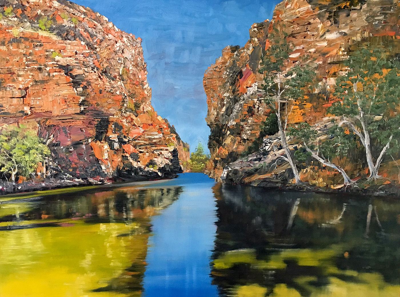 Steve Freestone - 'Alchemy, Ellery Creek Big Hole'