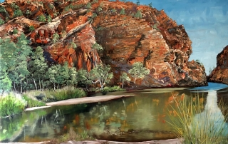 Steve Freestone - 'Oasis, Ellery Creek Big Hole'