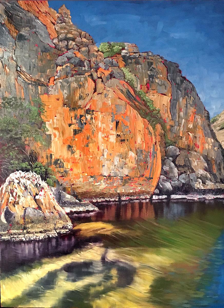 Steve Freestone - 'Geikie Gorge II, Kimberley Region'