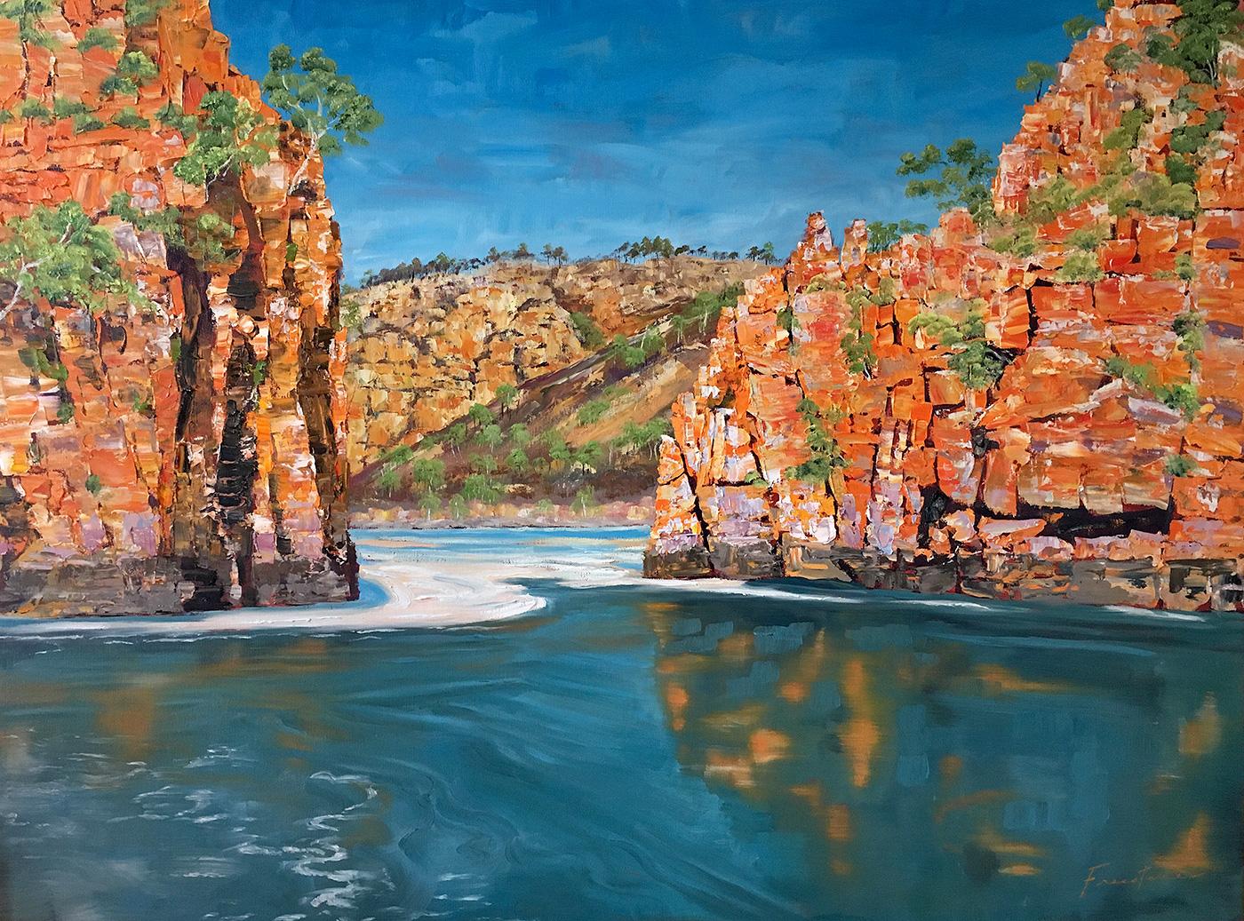 Steve Freestone - 'Horizontal Falls, Buccaneer Archipelago'