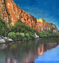 Steve Freestone - 'Reflections, Ord River'