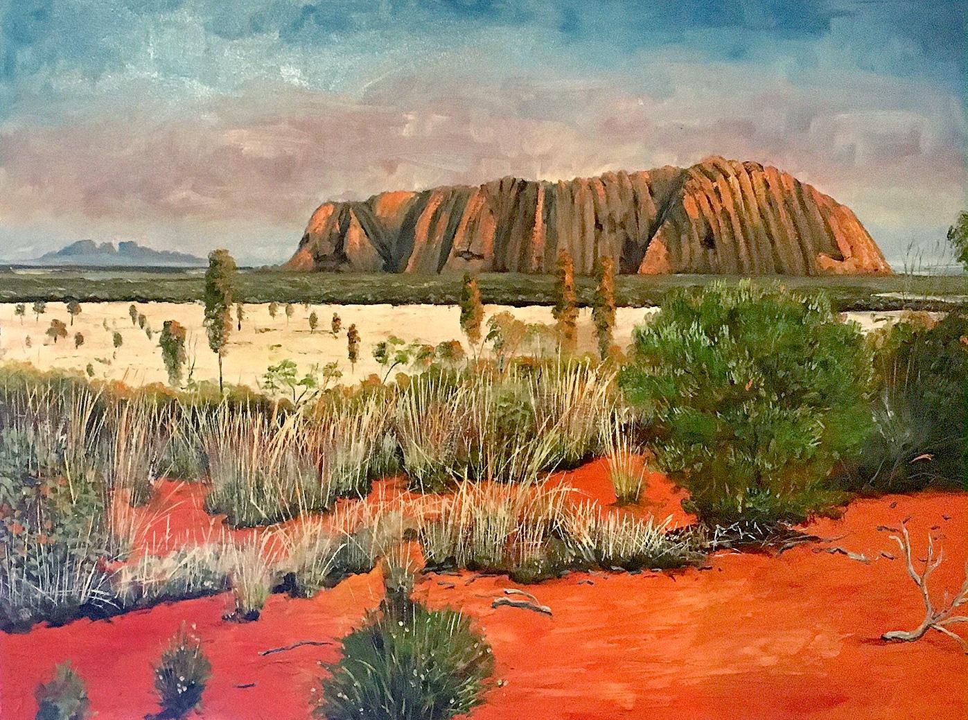 Steve Freestone - 'Uluru I'