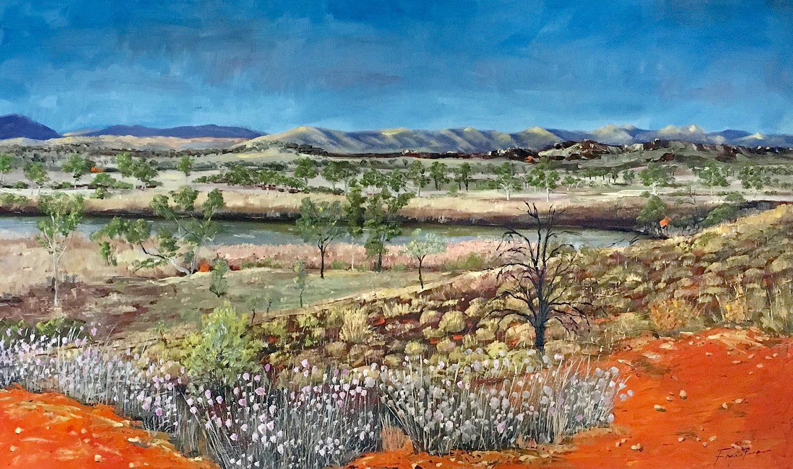 Steve Freestone - 'West MacDonnell Ranges'