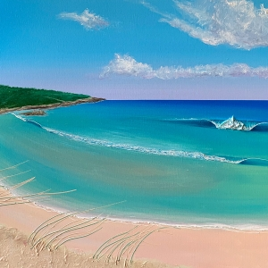 'Redgate Beach' by Adam Stanley