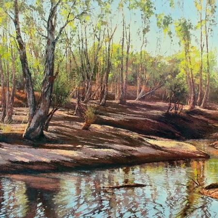 Jana Vodesil-Baruffi - 'Barnett River Crossing'