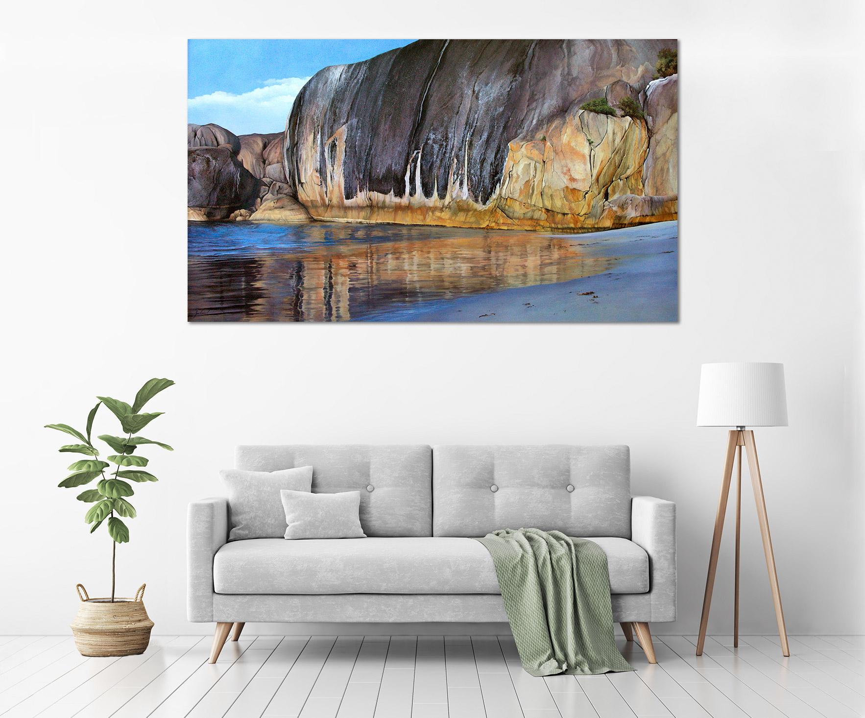 Jana Vodesil-Baruffi - 'Elephant Rocks' in a room
