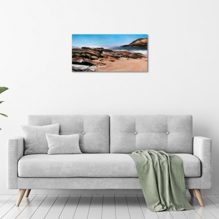 Jana Vodesil-Baruffi - 'Prevelly Beach' in a room