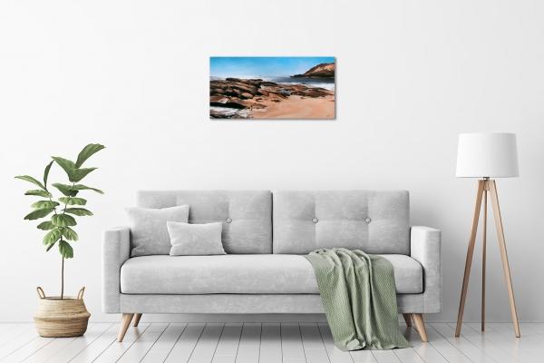 Jana Vodesil-Baruffi - 'Prevelly Beach' in a room