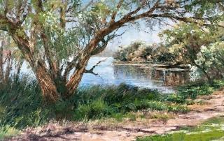 Jana Vodesil-Baruffi - 'River Walk II'