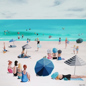 'Beach Parade' by Jaqueline Burgess