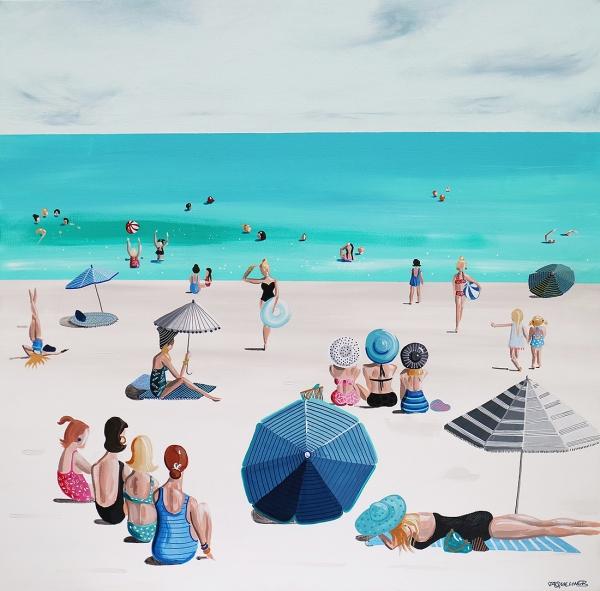 Jaqueline Burgess - 'Beach Parade'