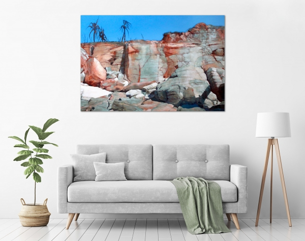 Maryann Devereux - 'Cape Leveque' in a room