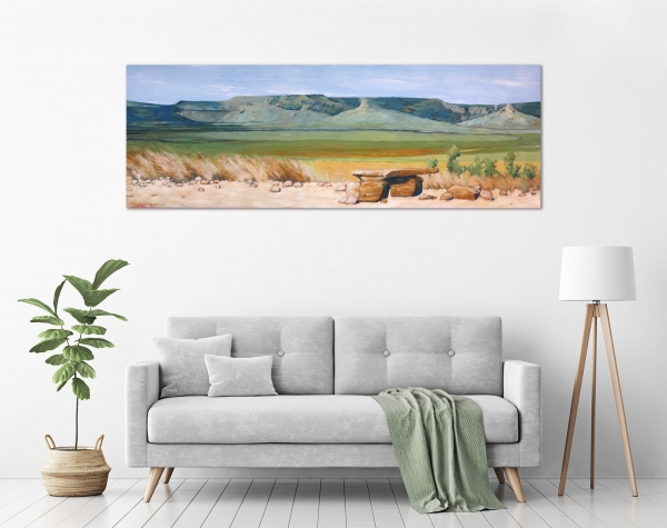 Maryann Devereux - 'Gibb River Road Panorama' in a room