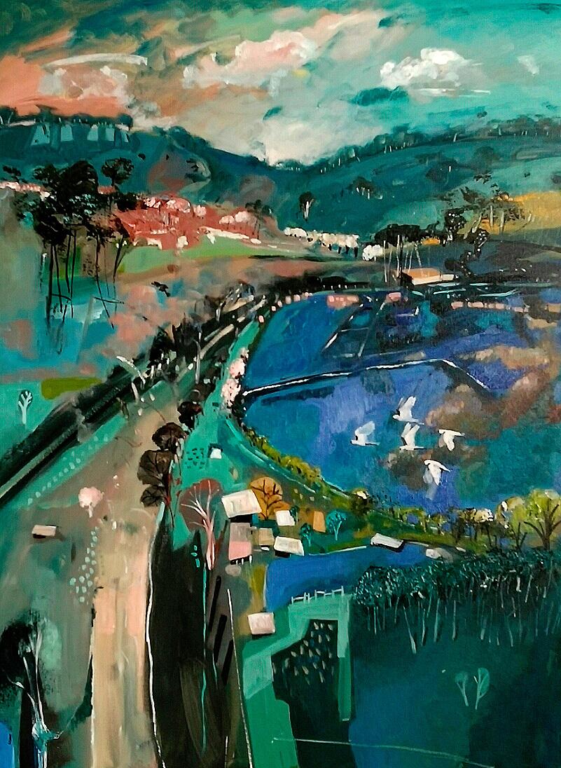 Susan Trudinger - 'Blue Lake'