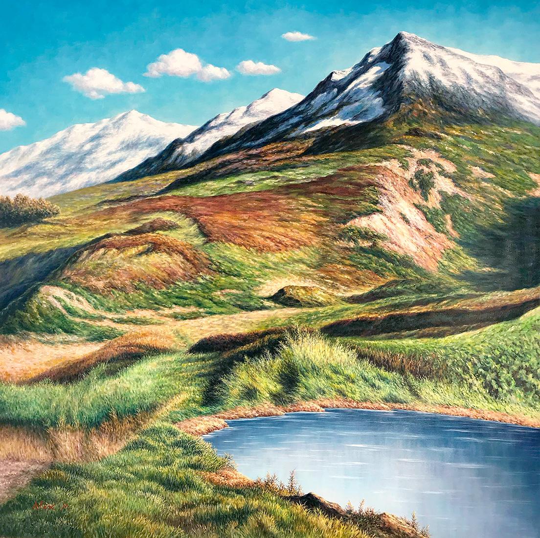 Alex Mo - 'Snowy Mountains'