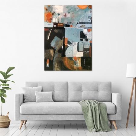 Ann Neagle - 'Underground' in a room