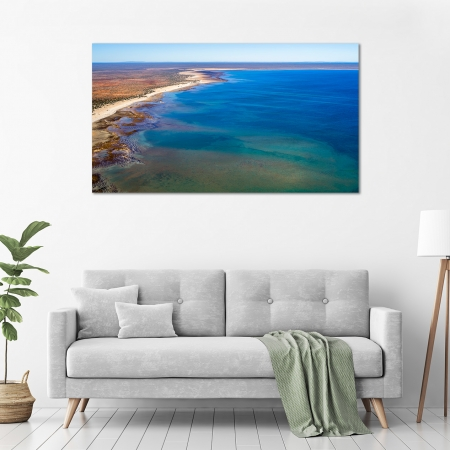 Jason Mazur - 'Hamelin Pool, Shark Bay 769' in a room