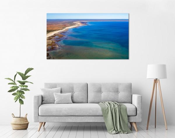 Jason Mazur - 'Hamelin Pool, Shark Bay 769' in a room