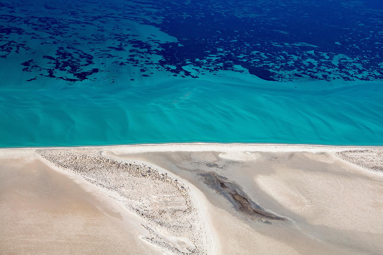 Jason Mazur - 'Shark Bay Aerial 124'