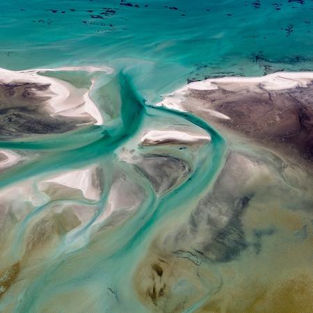 Jason Mazur - 'Shark Bay Aerial 191'