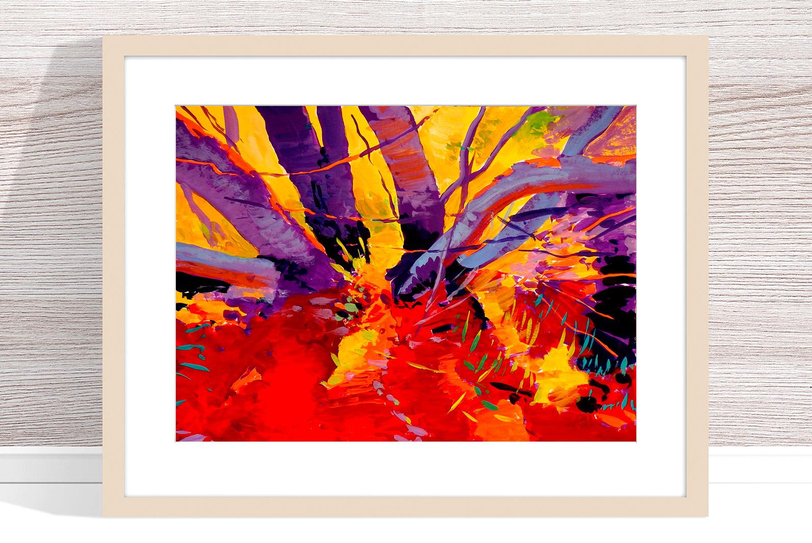 Marek Herburt - 'Against The Sun' Framed
