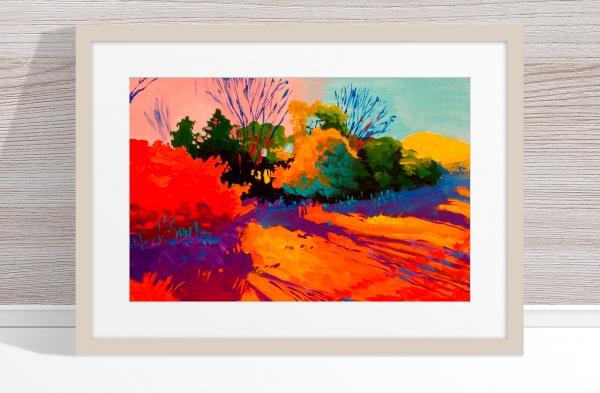 Marek Herburt - 'Winter Morning' Framed