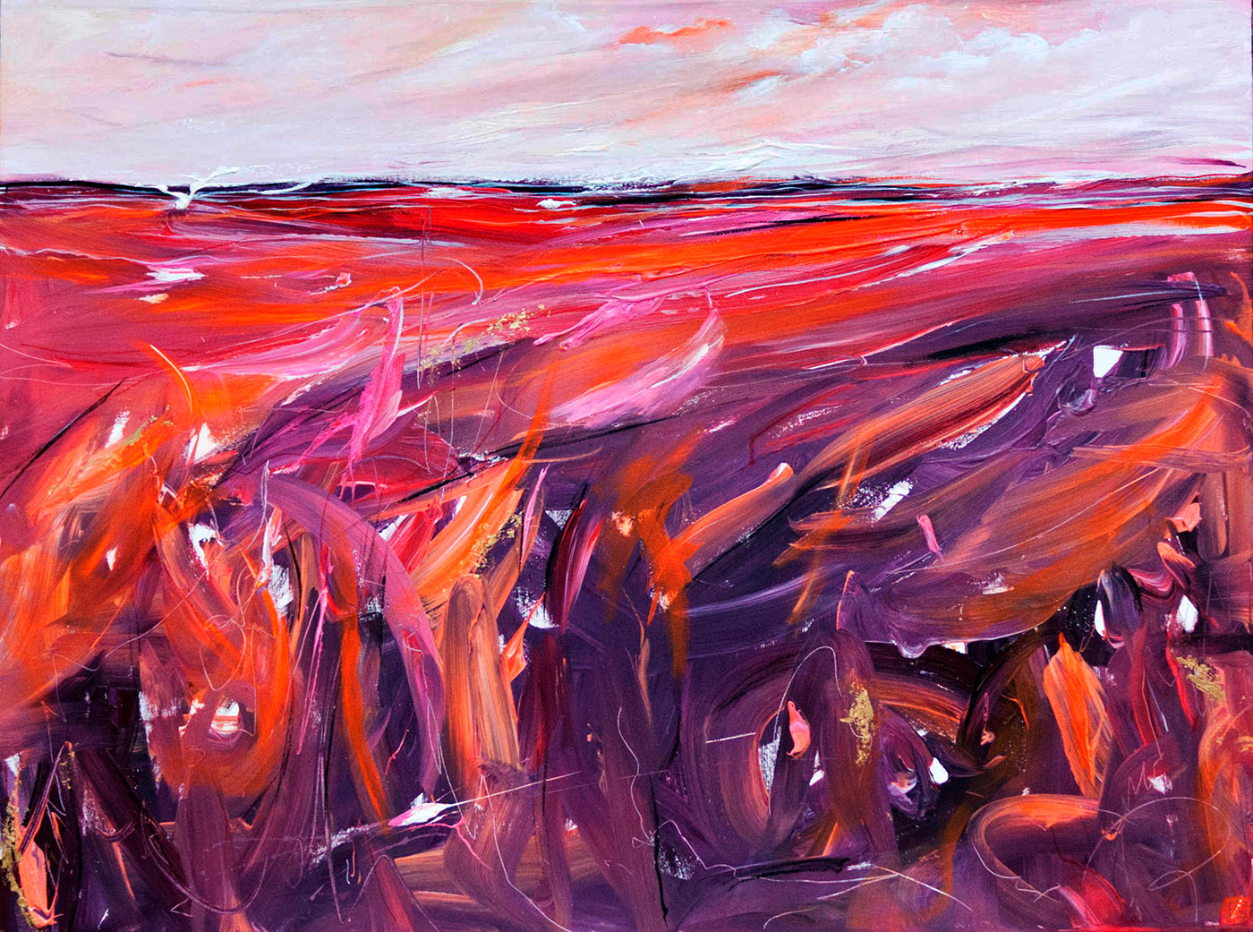 Tania Chanter - 'Clouds Conversing In Coral'