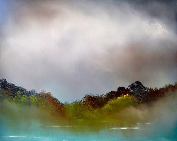 Elaine Green - 'As The Mist Lifted'