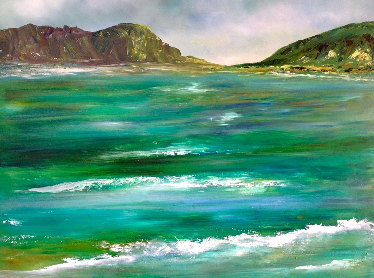 Elaine Green - 'Emerald Energy'