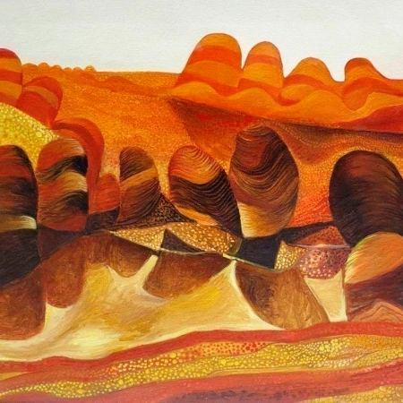 John Graham - 'Desert Lagoon'