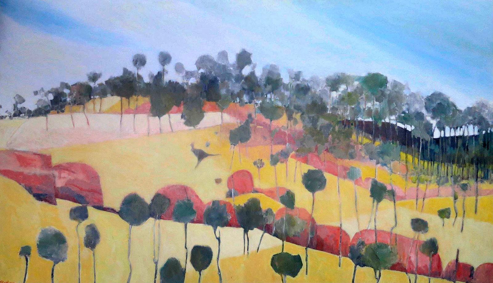 John Graham - 'Kangaroo Painting, Number II'