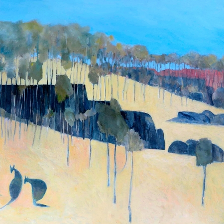 John Graham - 'Kangaroo Pod Sunset'