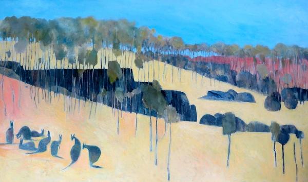 John Graham - 'Kangaroo Pod Sunset'