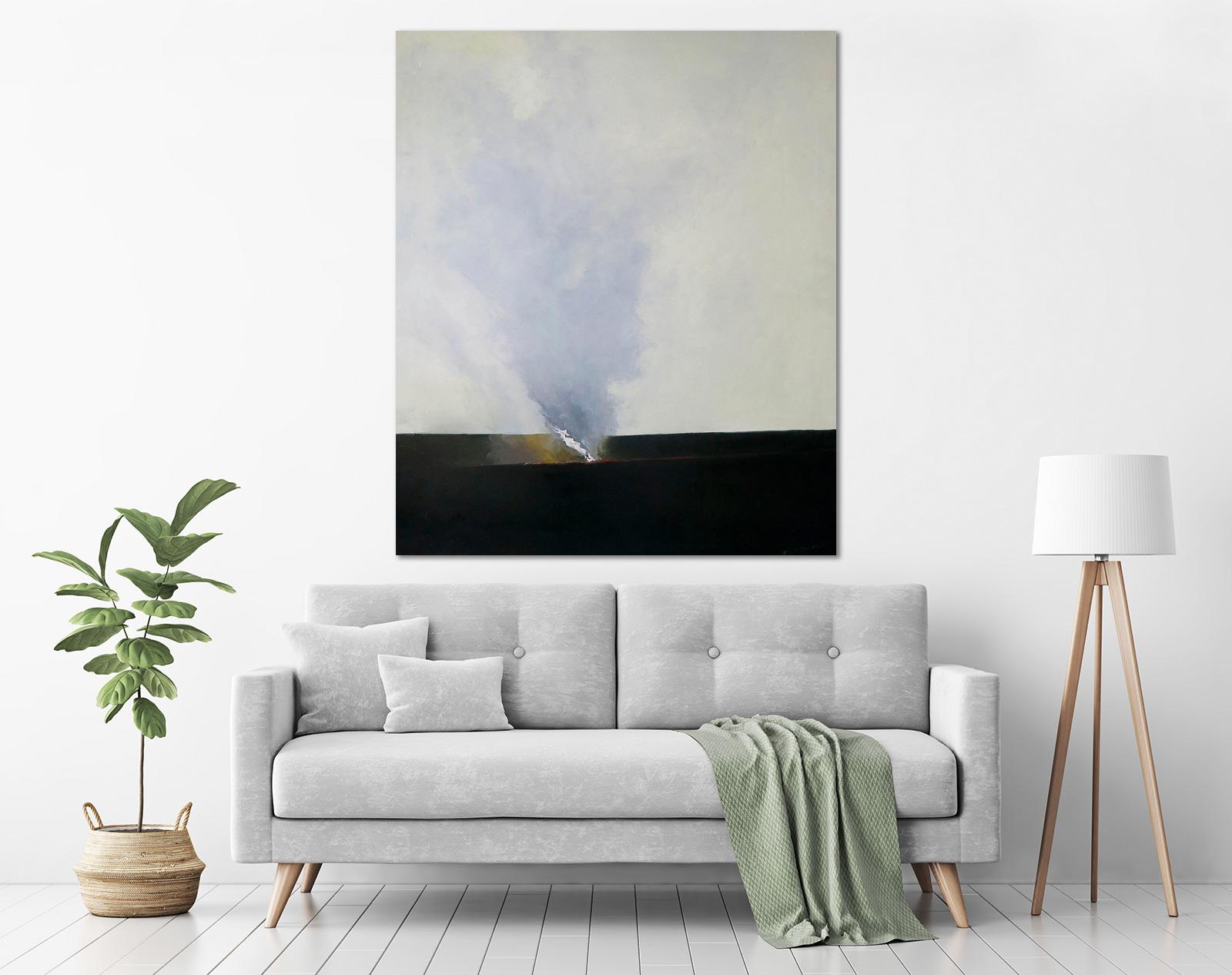 John Graham - 'Landscape I' in a room