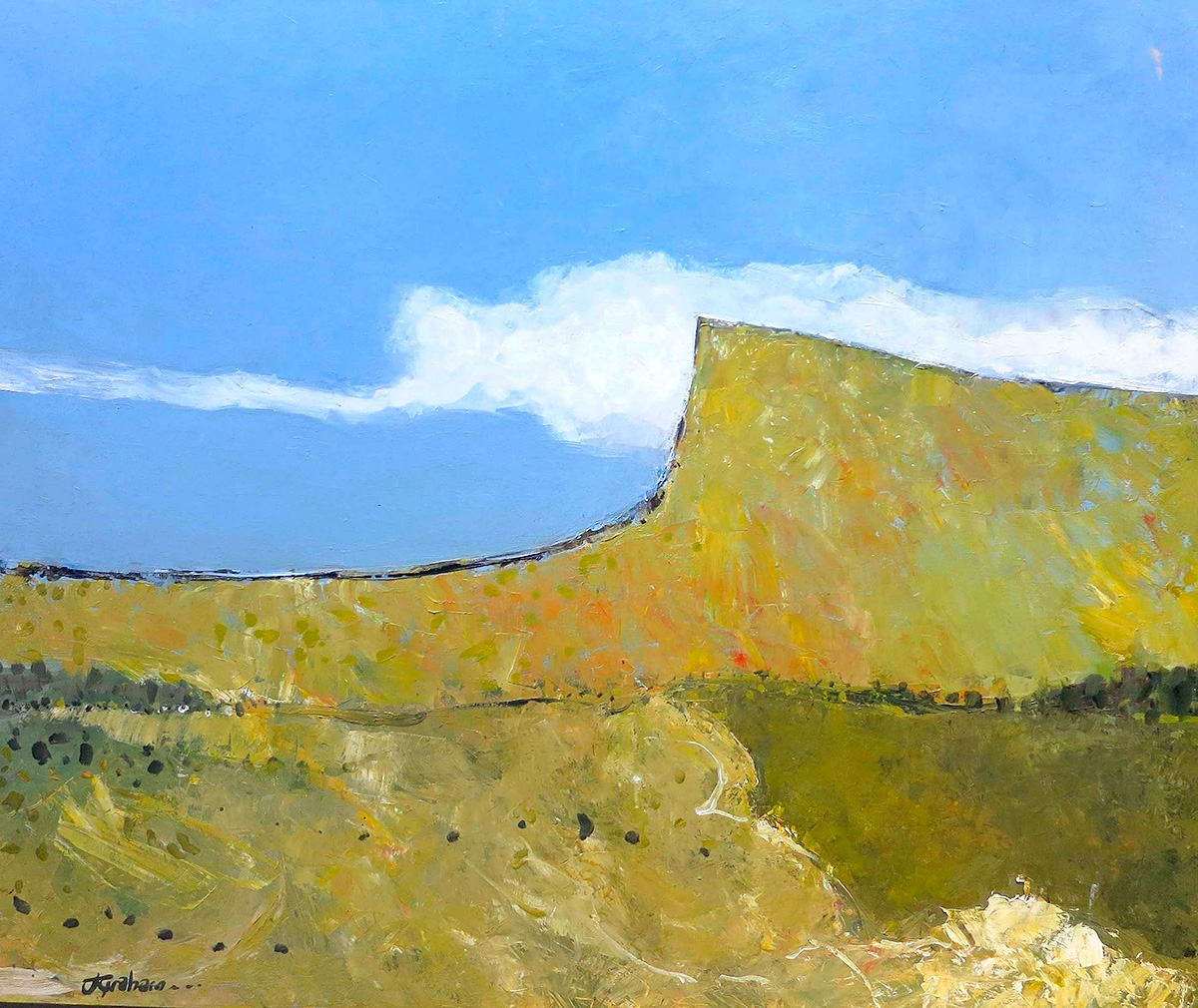 John Graham - 'Landscape With Bluff'