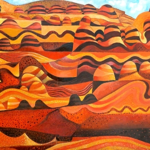 'Striped Hills' by John Graham