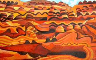 John Graham - 'Striped Hills'