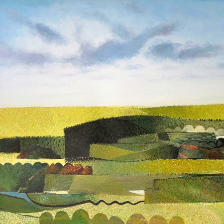 John Graham - 'Summer - Abstracted Landscape'