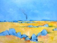 John Graham - 'Summer Landscape With Smoke'