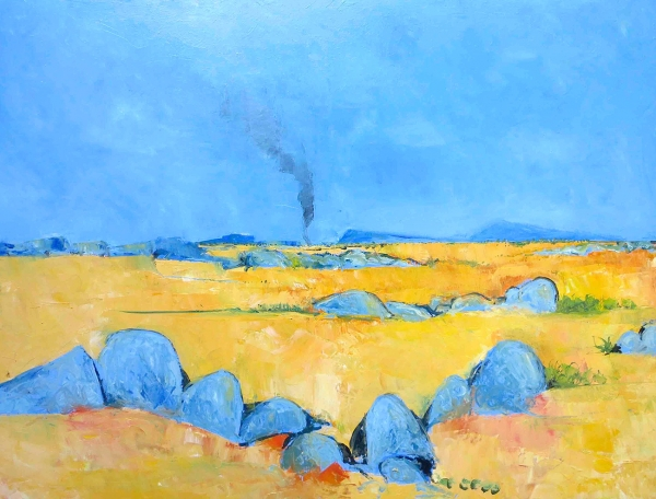 John Graham - 'Summer Landscape With Smoke'