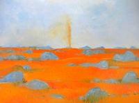 John Graham - You Yangs Landscape - Dust Devil'